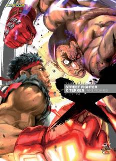 artbook artworks illustration street fighter tekken