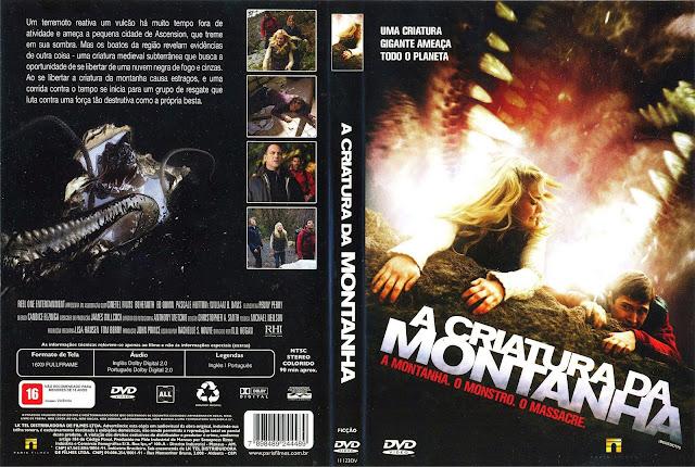 Capa DVD A Criatura da Montanha
