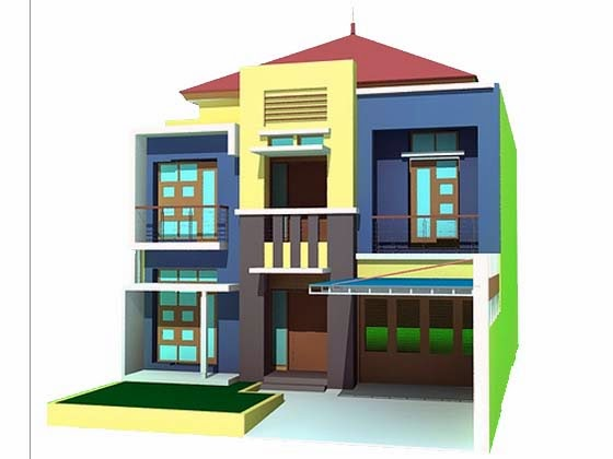 Two Floor Building Elevation Design Pictures