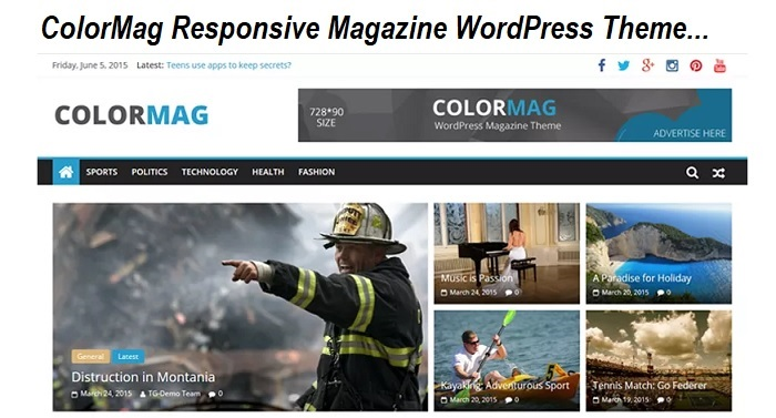 ColorMag Responsive Magazine WordPress Theme