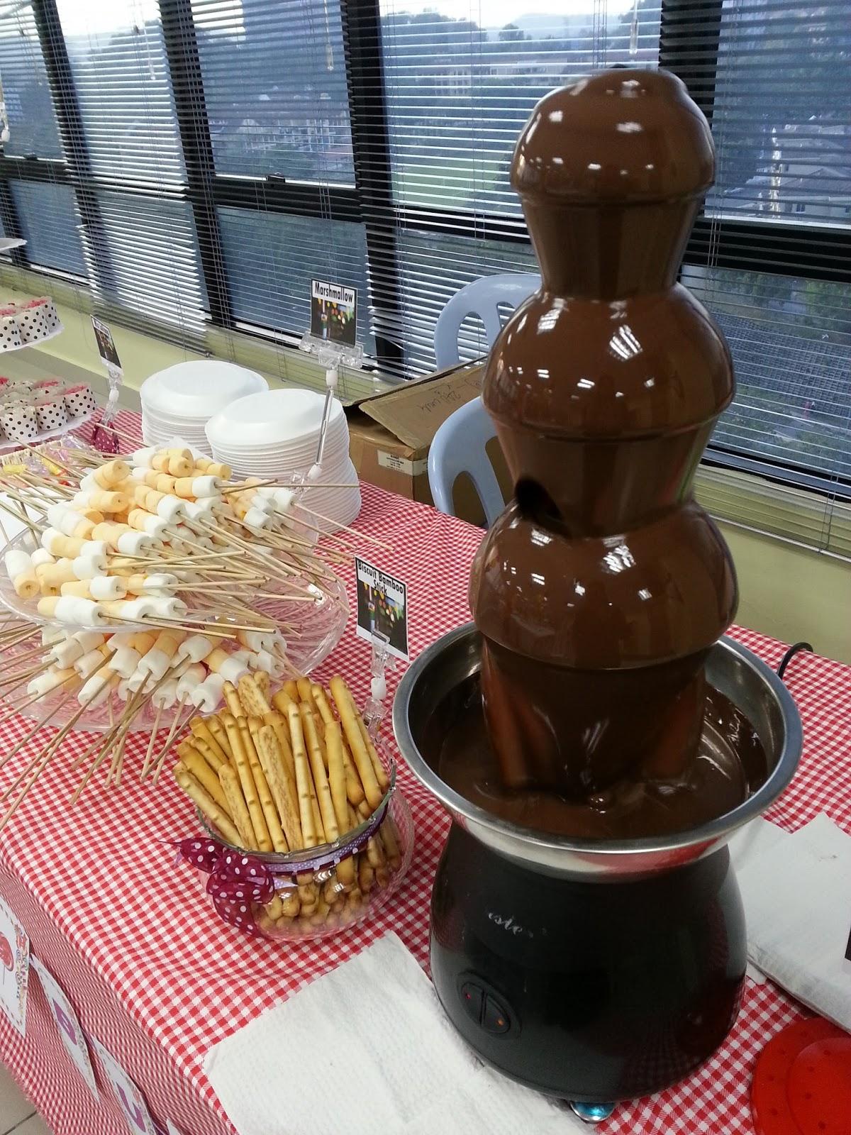 Yatz Sweet Spatula CHOCOLATE FOUNTAIN CANDY BUFFET