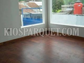 Pemasangan lantai kayu parket di Sukabumi