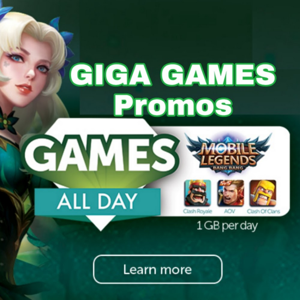 List Of Smart Internet Promos Giga Games Promos With Free 1GB Everyday