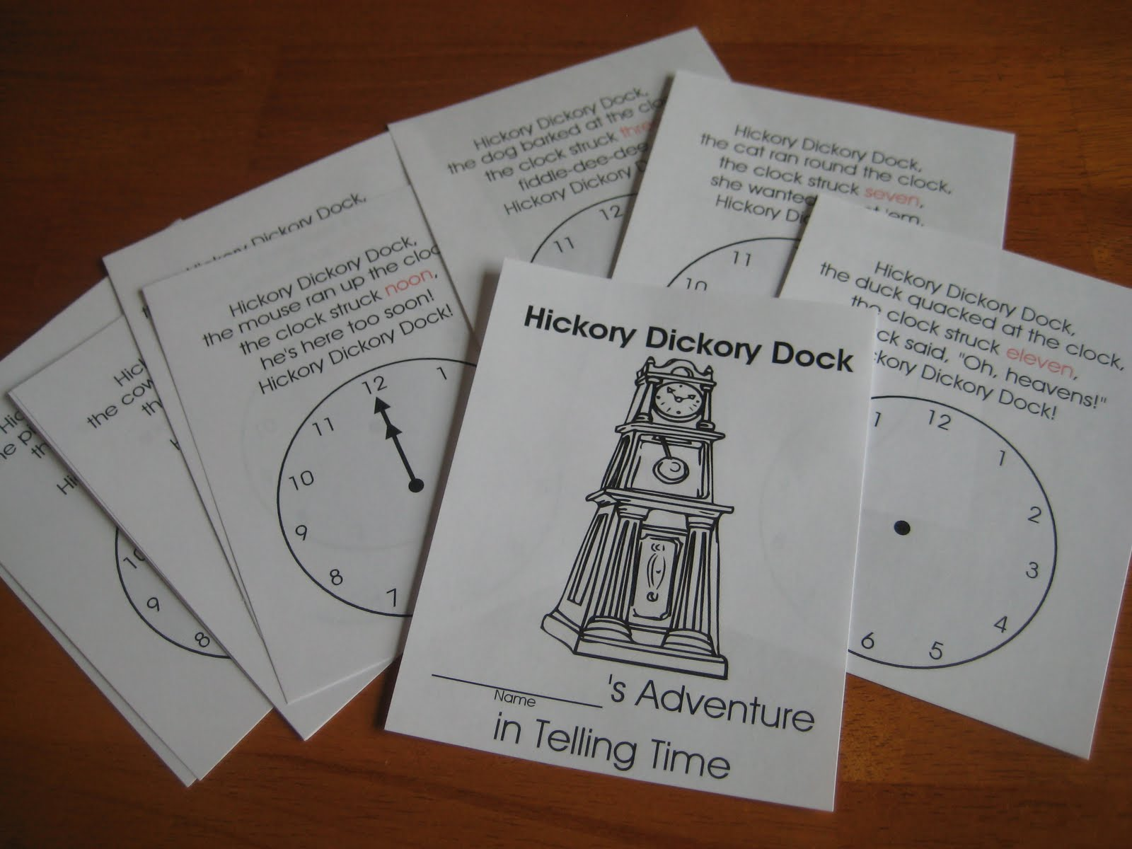 Relentlessly Fun Deceptively Educational Hickory Dickory