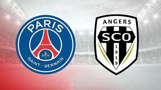 مباراة باريس سان جيرمان ضد انجيه
