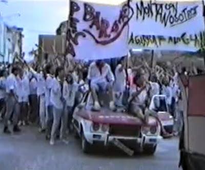Peña Los Barones. Fiestas de Binéfar 1991
