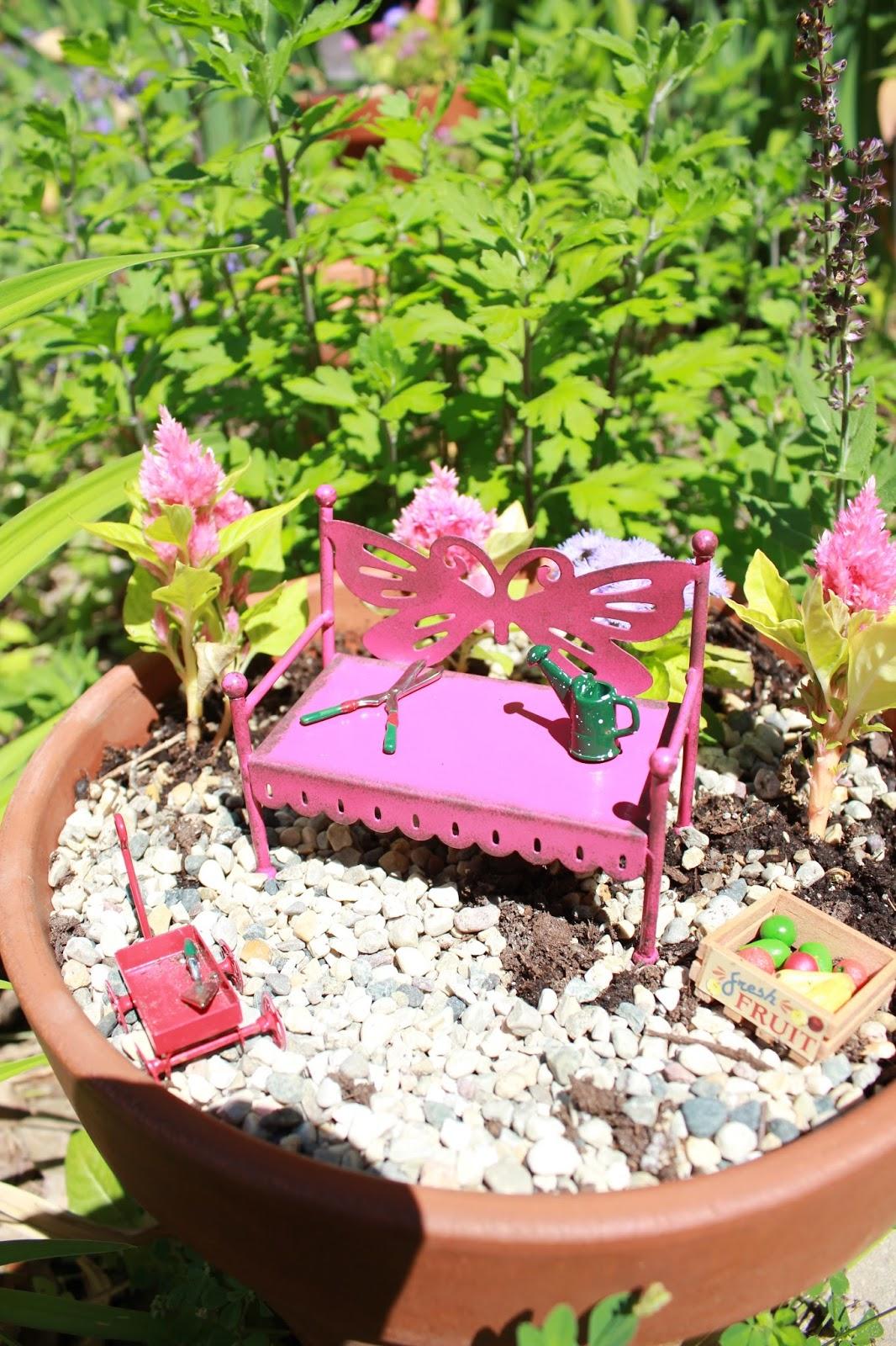 Bluet Clover Fairy Garden Party