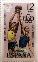 JUEGOS OLÍMPICOS MONTREAL 1976. BALONCESTO