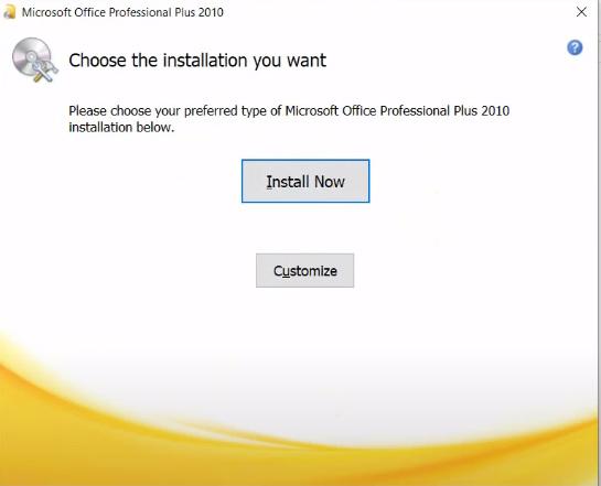 Hướng dẫn Cài đặt Microsoft Office 2010 Full b
