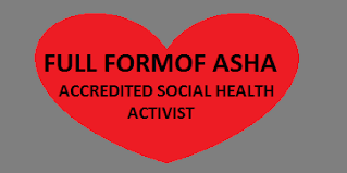 10 Full Forms of (ASHA) You Needs To Know About