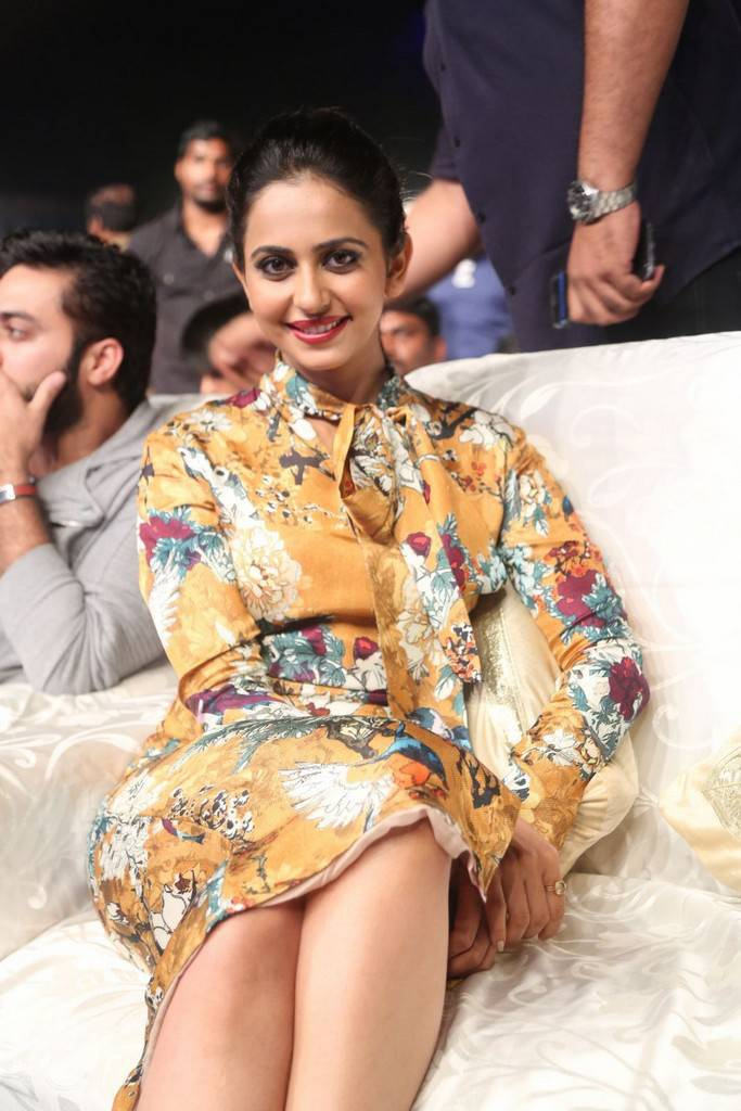 Rakul Preet Singh Stills At Movie Pre Release Function
