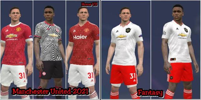 Manchester United Leaked Kits 2020 2021 Pes 2017 Pes Patches
