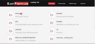 موقع easy-firmware للصيانة وتحميل ROOT