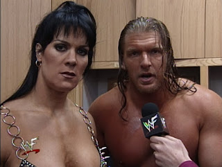 WWE / WWF - Backlash 1999 - HHH and Chyna had a message for X-Pac