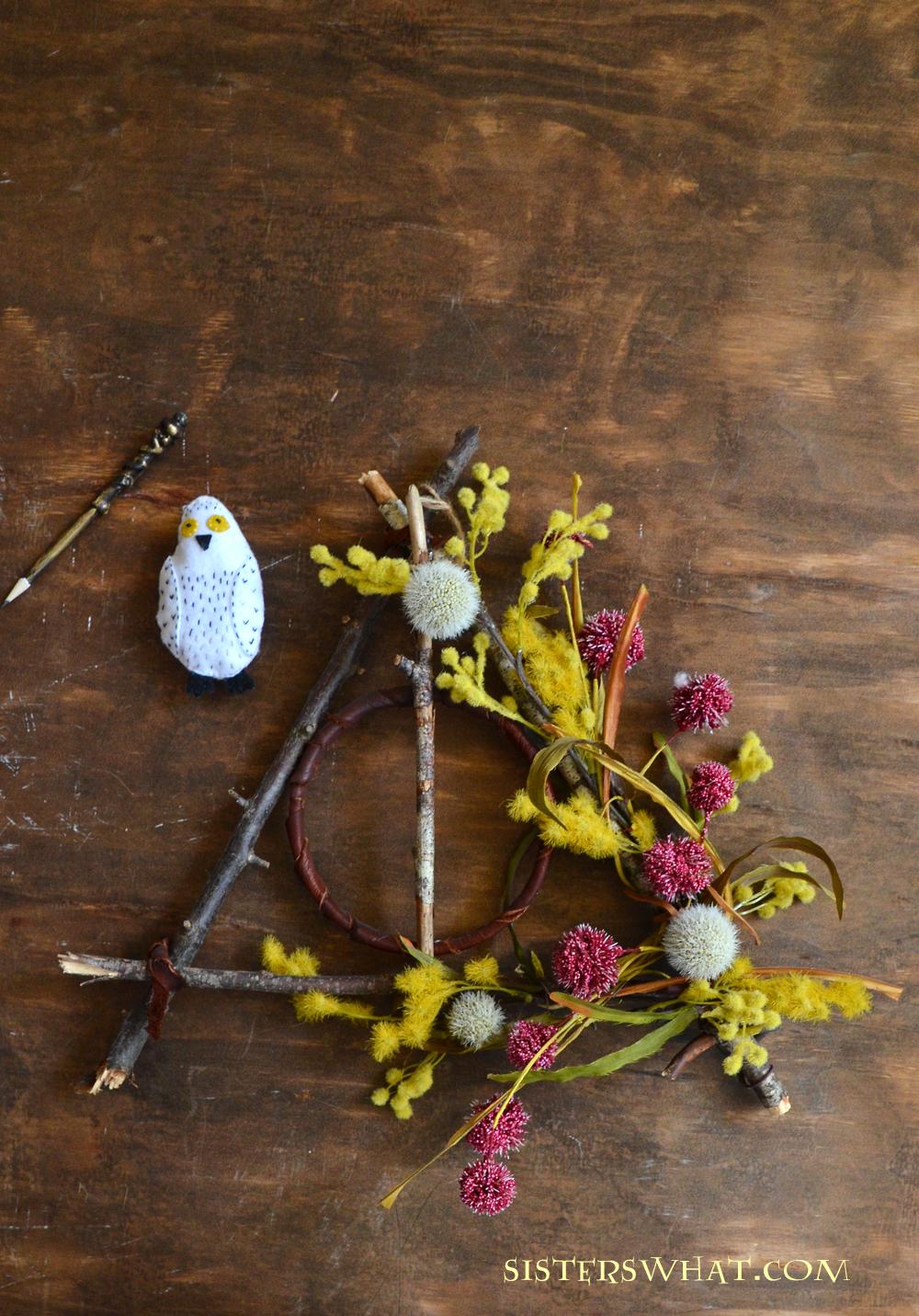 Harry Potter Wreath DIY