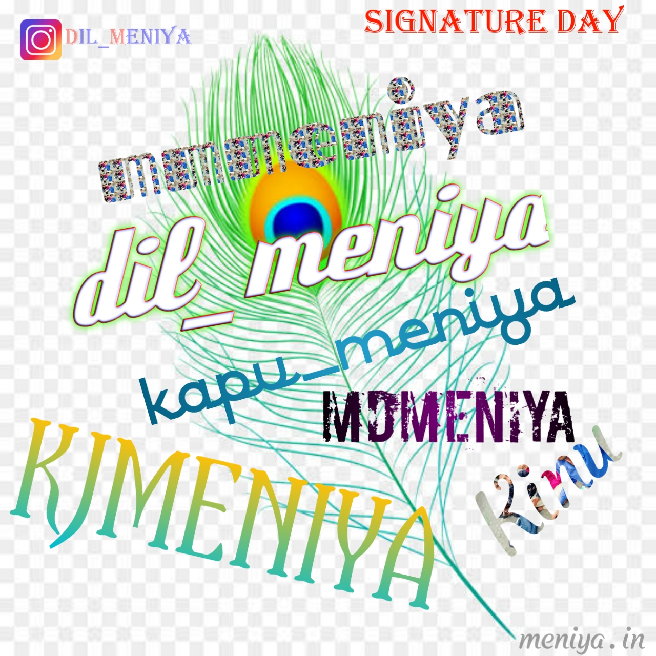 Signature Day dil_meniya