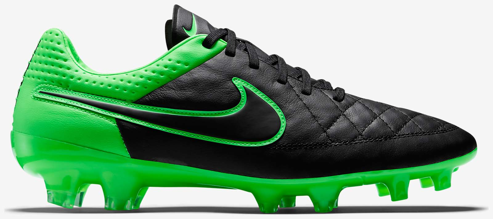 innovative design 927d6 82d20 Nike Tiempo Legend 5 Black   Green Strike