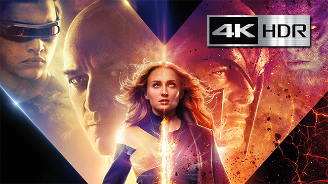 X-Men: Dark Phoenix (2019) Web-DL 4K UHD [HDR] Latino-Ingles