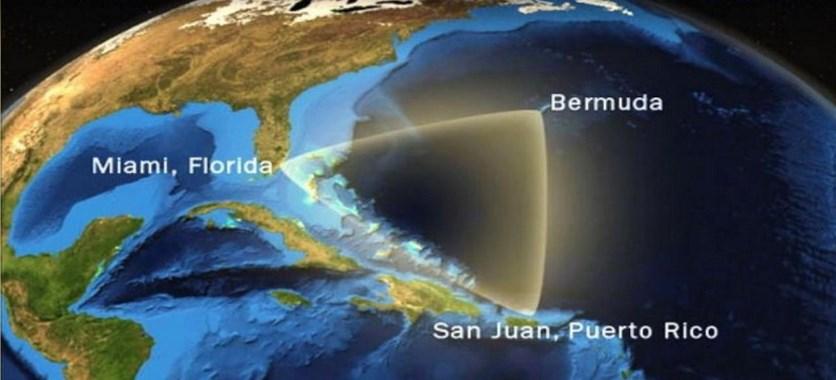 Menguak Misteri Dan Fakta Segitiga Bermuda di peta