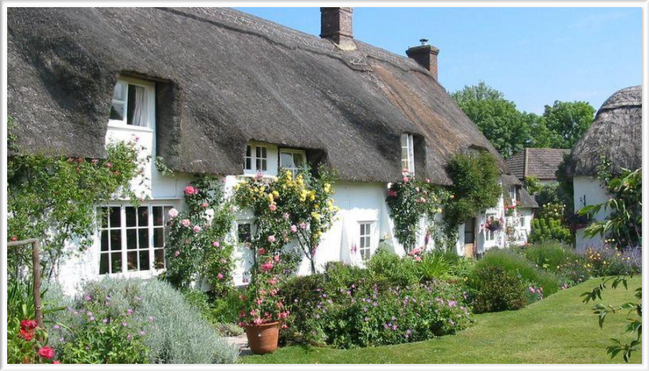 Les cottages anglais fil de cottage for Jardin de cottage anglais