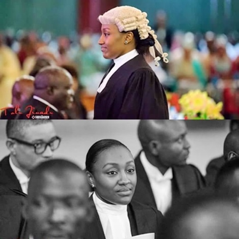 More Photos of President Buhari's Beautiful Daughter, Halima Who was Called to Bar Today in Abuja