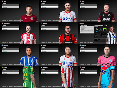 PES 2021 FacePack & TattooPack by Diegotatoosparapes