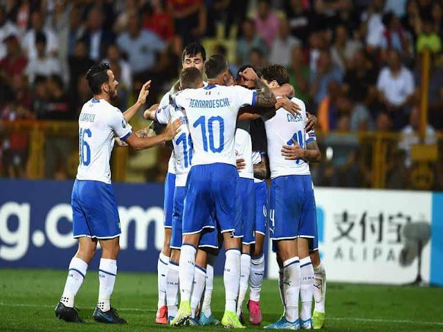 مشاهدة مباراة ايطاليا واليونان