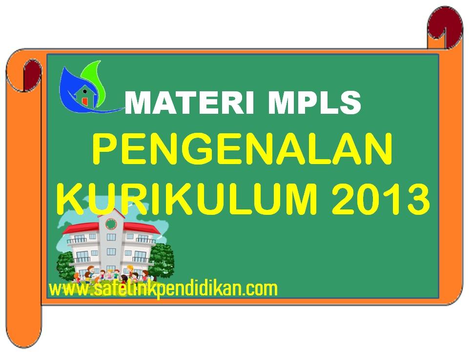 Materi MPLS Pengenalan Kurikulum 2013