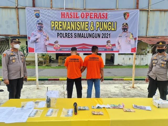 Laksanakan Jukrah Kapoldasu Polres Simalungun Gelar Operasi Anti Premanisme dan Pungli di Simalungun, Berhasil Amankan 15 Dugaan Pelaku Pungli