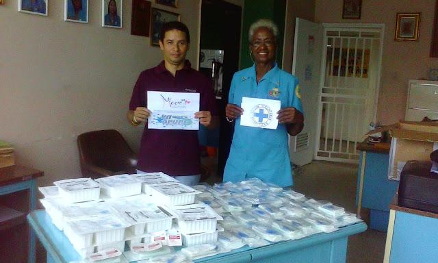 "Move Org mediante Proyecto ""Yo Amo Apure"" realizaron donativos a Acción  Voluntaria en Hospital de San Fernando."