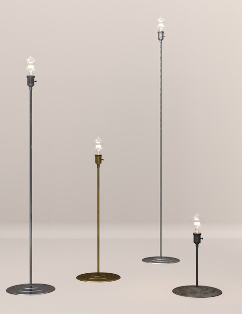 Lamp Light: Floor Lamps for Daz Studio