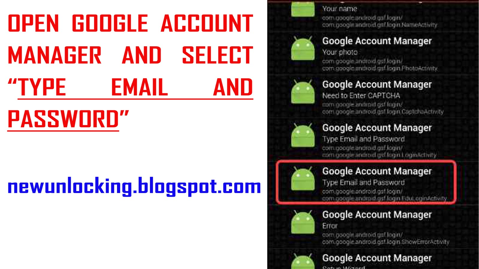 Google Account Manager 5 0 5 0 1 5 1 And 5 1 1 Apk Free Download Using Remove Frp Account New Unlocking