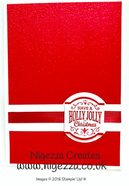 Stampin' Up! Christmas Traditions Punch Box Showcase Nigezza Creates