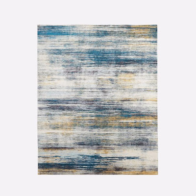 West Elm Verve Rug in Midnight