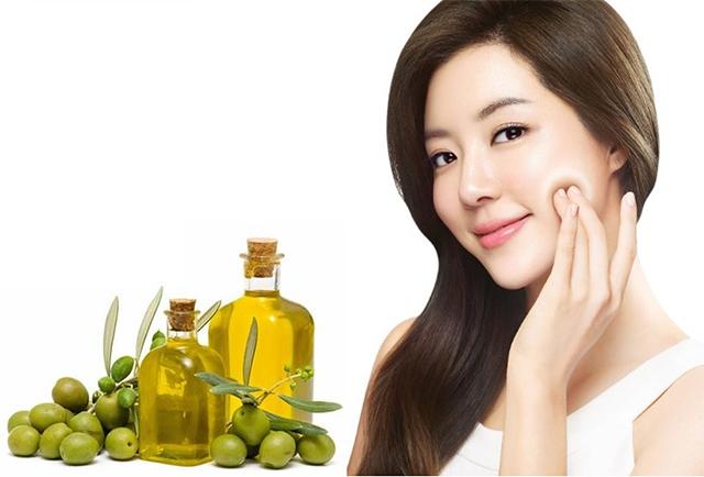 Cách Làm đẹp da mặt bằng dầu oliu