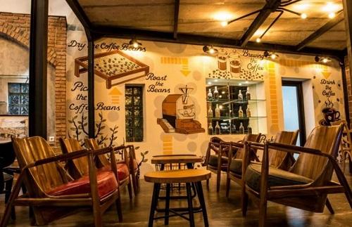 Mural di terroir coffee and eats