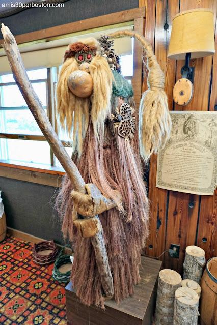Troll en Land's End Gift Shop en Bailey Island, Maine