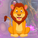 Games4King Awe Lion Escape
