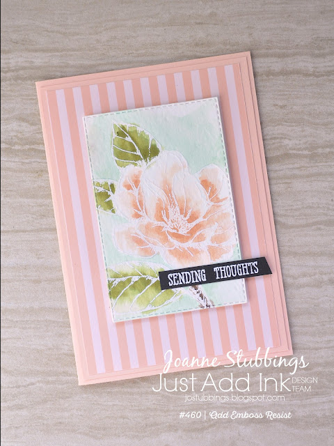 Jo's Stamping Spot - Just Add Ink Challenge #460 using Good Morning Magnolia stamp set by Stampin' Up!