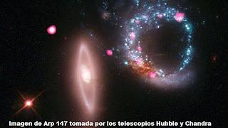 Un anillo gigante de agujeros negros