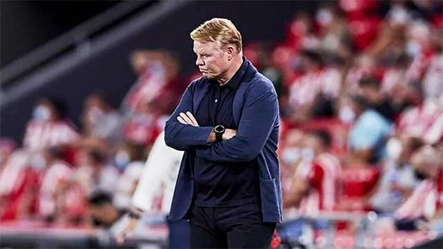 """المدرب الهولندي """"كومان"""" يرد على شائعات إقالته"""