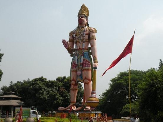 Veera Abhaya Anjaneya Hanuman Swami Statue