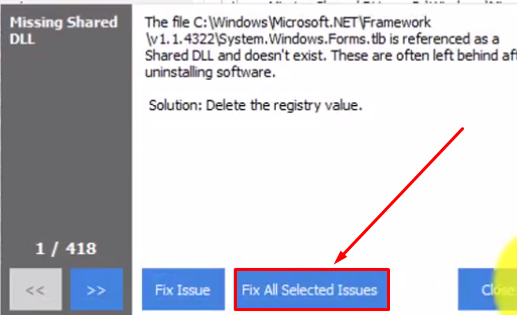 Fix Windows Registry Error Problem Easy Way