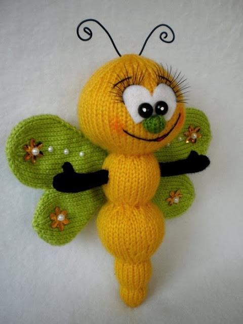 Вязаные игрушки - Кройка и шитье, вязание