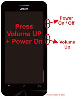 Cara Flashing Asus Zenfone 4 (A400CG)