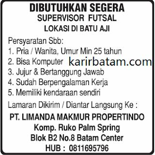 Lowongan Kerja PT. limanda Makmur Propertindo