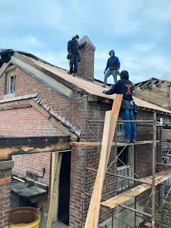 Belle Isle Sawmill Roof