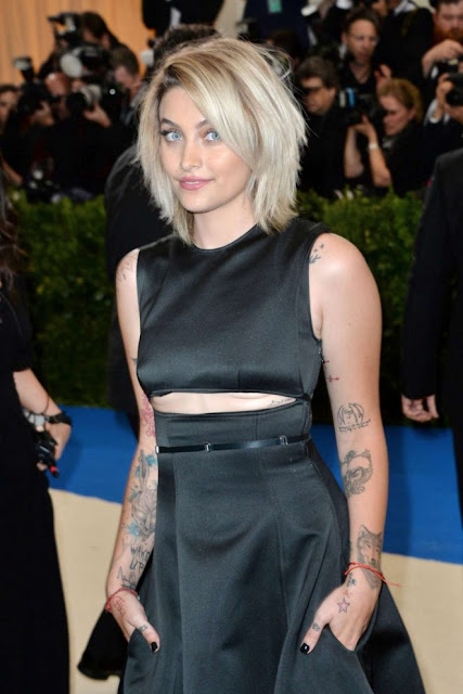 paris jackson tattoo michael jackson