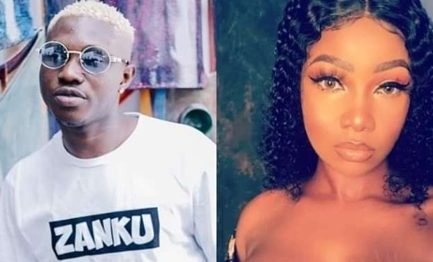 "Naira Marley, Nigerians blast Zlatan ibile for making a ""Tacha body Odour song"""