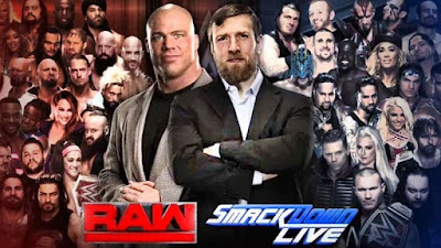 Monday Night Raw Smackdown Daniel Bryan Kurt Angle Shuffle Draft Brand Extension